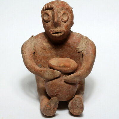 Middle East Circa 2500-1500 BC Terracotta Statue Idol