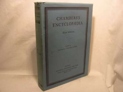 Chambers's Encyclopaedia New Edition in 15 volumes, , Very Good Book