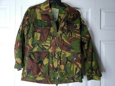 111662b2c6521a NATO Military Combat Field Smock Jacket DPM Camouflage Army Size 160 96 S M