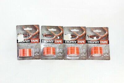 Wildgame Innovations Stick & Score Trophy Tape 4 Roll Multi Pack LOT OF 4
