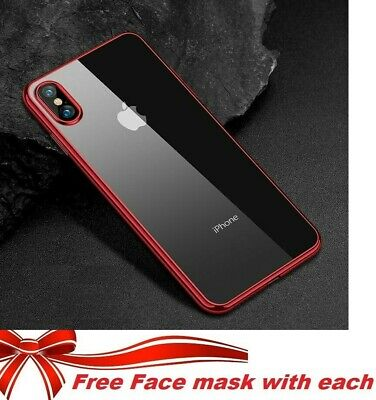 AU For Apple Iphone 11 Pro Max X XS MAX XR 8 7 Plus 6 6s Back Case Bumper Cover