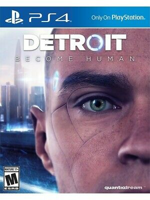 DETROIT Become Human (PS4 Sony Playstation 4) game