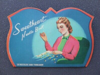 "Vintage Needle Case Collectable ""Sweetheart"""