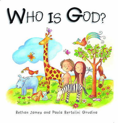 """""""VERY GOOD"""" Who is God? (Mini Board Books), James, Bethan, Book"""