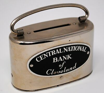 "Vintage Central National Bank of Cleveland ""Ben Franklin"" Bankers Savings"