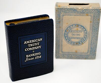 Vintage American Trust Company Book Bank with original box