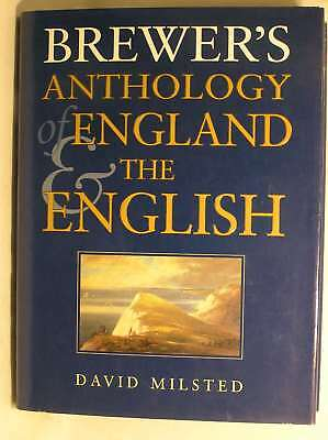 Brewer's Anthology of England and the English, Milsted, David, Excellent Book