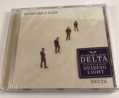 Mumford And Sons - Delta CD - Brand New & Sealed - See Description-Cracked Cover