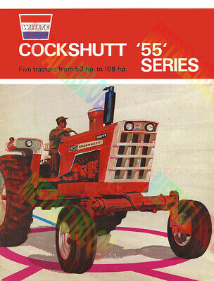Cockshutt 55 Series Tractor Brochure Inspired Poster (A3) - (3 for 2 offer)