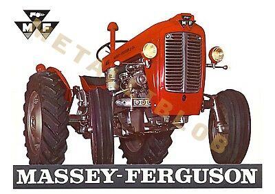 Massey Ferguson 37 Tractor - Poster (A3) - (3 for 2 offer)