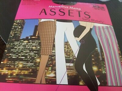 Assets by Sara Blakely Marvelous Mama Perfect Pantyhose 1/Black