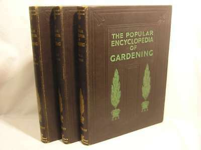 The Popular Encyclopedia of Gardening, Complete in 3 Volumes, Thomas, H. H. and