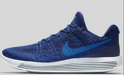 c80eee129a1c7 Nike Lunarepic Low Flyknit 2 MENS Shoes Deep Royal Blue 863779-400 sz 10.5  zoom
