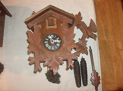 Cuckoo Clock (Complete)   Parts Or Repairs