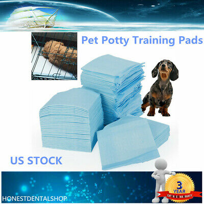 33x45cm 100pc Pet Puppy Training Pee Pad For Dog Cat Clean Healthy Mat House US