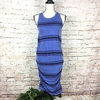 ad33c16ade662f SUNDRY SLEEVELESS STRIPED Tank Ruched Dress Womens Size 2 - $23.19 ...