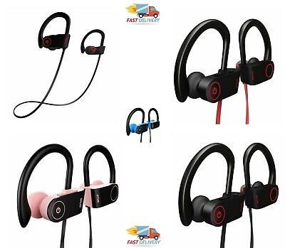 8fe3d3643bb Bluetooth Earbuds Waterproof Otium Sports Wireless Headphones Stay inEar  Design