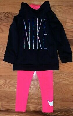 Girls Nike Clothing Outfit Set Size 4