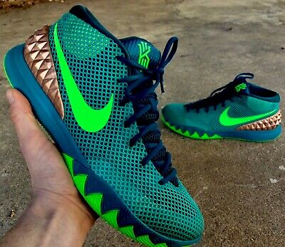 "premium selection 595db 9b961 NIKE KYRIE 1 ""Australia"" Mens Size 13 / Teal-Green Strike / 705277-333 /  STEAL!"