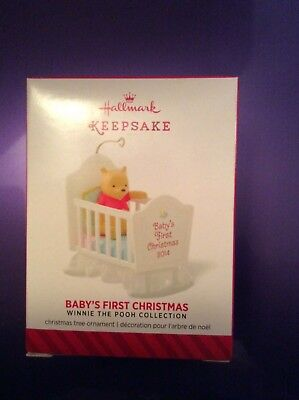 Hallmark 2014 BABYS FIRST CHRISTMAS Ornament WINNIE THE POOH