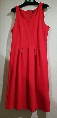 2a3db88ef8 J.CREW BLACK LABEL Red Sheath Camille Dress Size 12T -  10.50