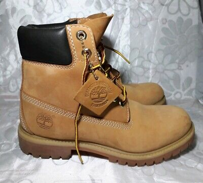 815ce10aae559 Mens Timberland Boots Size 7 leather wheat waterproof signature classic  lace up