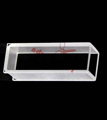 1,2pcs 751 Optical glass cuvette, light path 10mm,volume 3.5ml