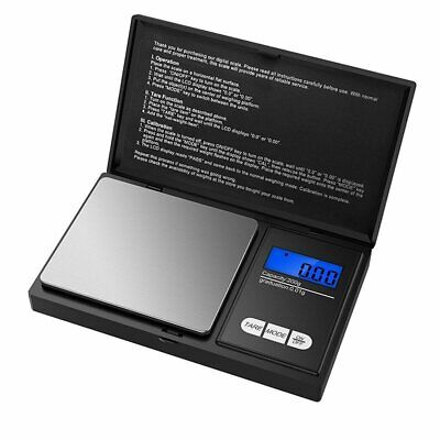 Mini Digital Scale 500g/0.01g Jewelry Gram Weight Coin Pocket Size Herb Grain