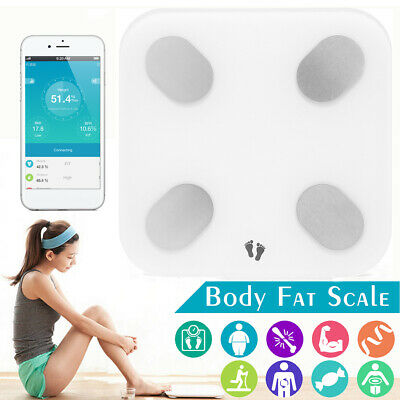 Yunmai Digital LCD bluetooth Smart Body Fat Muscle Scale BMI/BMR For iOS  NEW