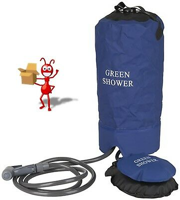 Portable Shower with Foot Pump
