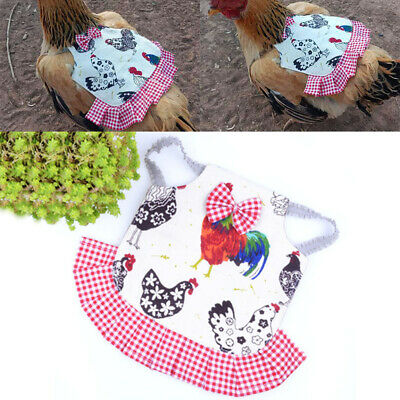 New Chicken Saddle Apron Hen Jacket Back Feather Protection Backyard Poultry