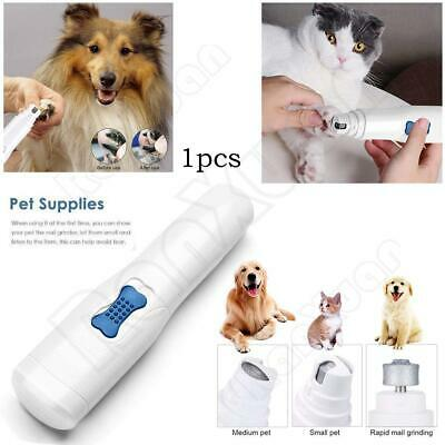 1PC Professional Pet Dog Cat Nail Trimmer Grooming Tool Grinder Electric Clipper