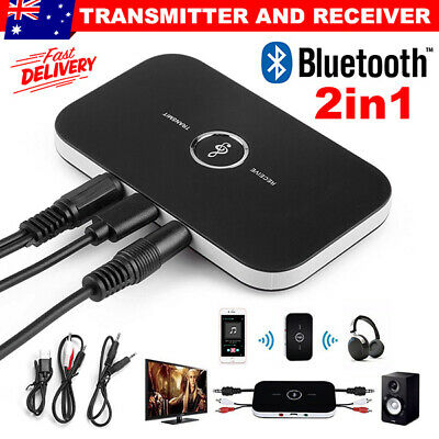 HIFI Bluetooth Wireless Audio Transmitter Receiver 3.5MM RCA Adapter For TV