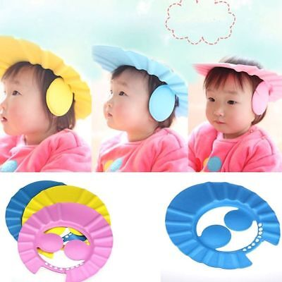 Adjustable Baby Kids Shampoo Shower Bathing Bath Protect Ear Wash Hair Cap 1 pc