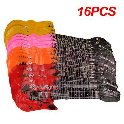 Practical 8/16x Inflatable Air Guitar Kid Children Toy Blow Up Rock & Roll Party