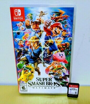 Super Smash Bros. Ultimate ☆☆ MINT, Barely Touched ☆☆ - Nintendo Switch