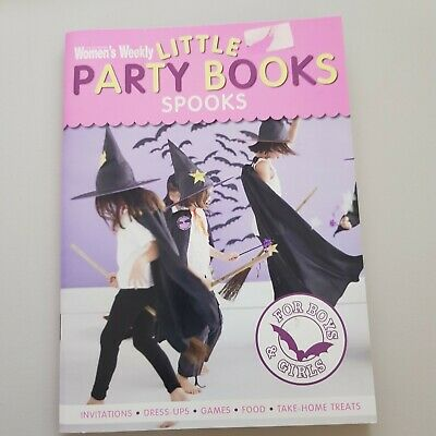 Women's Weekly Little Party Books. Spooks