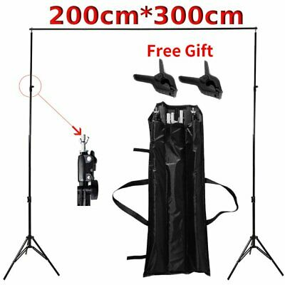 7 X 10 Ft Photography Background Support Stand Photo Backdrop Crossbar Kit US BT