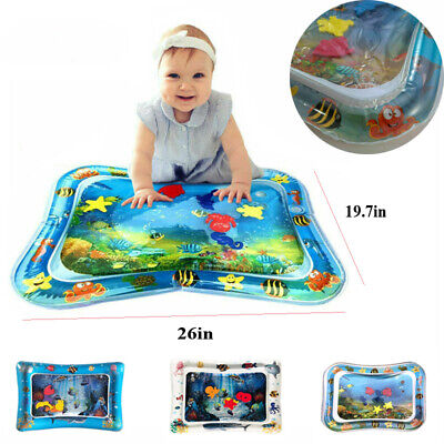 Inflatable Water filled baby play mat Toddlers Mattres Splash Playmat Tummy Time