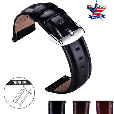 20mm Genuine Leather Watch Strap For Xiaomi HUAMI AMAZFIT Bip Youth Band Pins