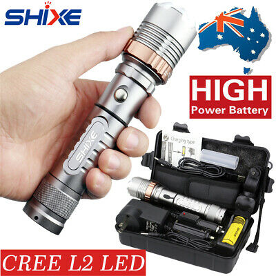 2019 New Style 20000lm L2 CREE Chargeable Tactical LED Flashlight Military Torch