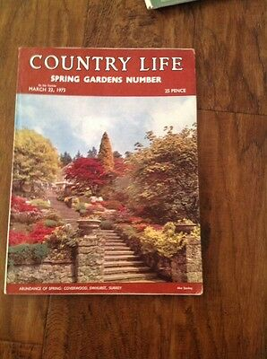 Country Life March 22nd 1973 Miss Sheila Falls, Coverwood Ewhurst Surrey