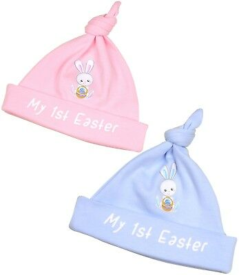 BabyPrem Premature Baby Hats 2 x My 1st EASTER Preemie Gifts 1-3 3-5 5-7.5lbs