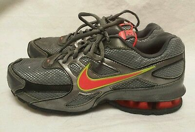 d2559ee4a1b Women s NIKE REAX RUN DOMINATE Running Athletic Shoes Grey   Orange Size 6.5