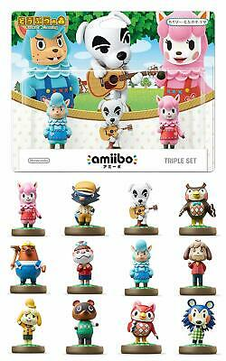 YOU PICK Nintendo amiibo Animal Crossing Series Figure JAPAN Switch Wii U 3DS FS