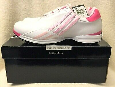 hot sales 2682c 8053d ADIDAS DRIVER PRIMA ADIWEAR WOMENS GOLF SHOES Pink Brand New US 8