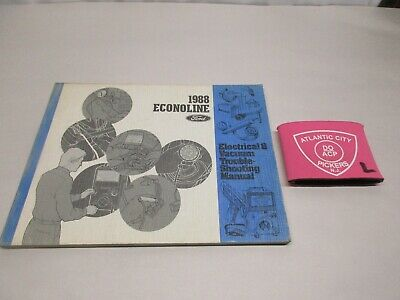1988 ford econoline electrical vacuum troubleshooting wiring diagrams manual