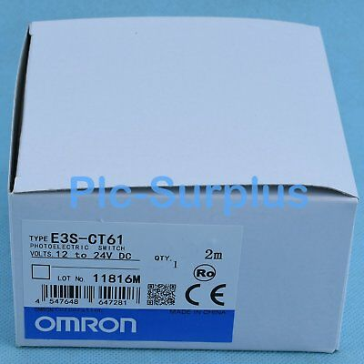 E3S-CT61 E3SCT61-D/&E3S-CT61-L New Omron Photoelectric Switch Sensor #LRR