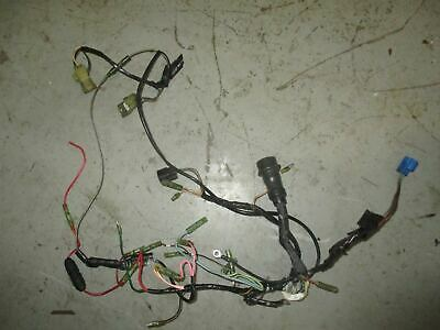 YAMAHA 50HP 2 stroke outboard engine wiring harness (63D ... on