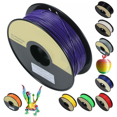 1.75mm  3D Printer Filament PLA/ABS - Various Colours Available Roll For UK
